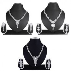 Deals, Discounts & Offers on Earings and Necklace - Atasi's Buy 2 Tairo Combo Necklace Set And Get 1 Free