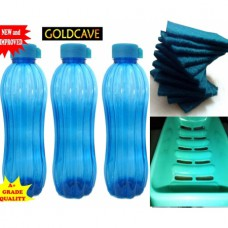 Deals, Discounts & Offers on Home Appliances - Combo Of 3 Goldcave Water Bottles Cleaning Scrubs Soap at 50% OFF