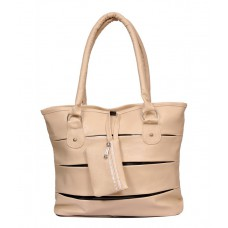 Deals, Discounts & Offers on Accessories - Sms Beige Hand Bag offer