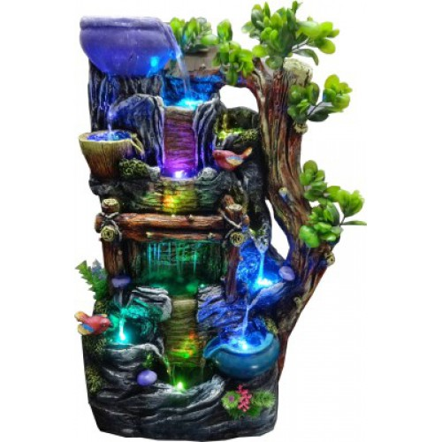 Home Decor Fountain: Handicrafts Indoor, Outdoor Water Fountain Home Decor