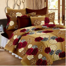 Deals, Discounts & Offers on Home Decor & Festive Needs - Cotton Floral Double Bedsheet