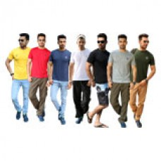 Deals, Discounts & Offers on Men Clothing - Clou PO7 Mens T-Shirt