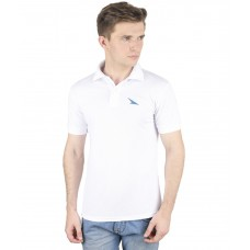 Deals, Discounts & Offers on Men Clothing - PRO Lapes White Mens Polo T-Shirt