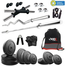 Deals, Discounts & Offers on Personal Care Appliances - KRX 50KG COMBO 2 Gym & Fitness Kit