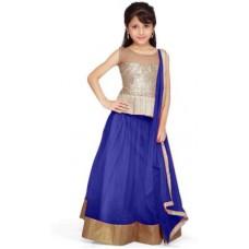 Deals, Discounts & Offers on Baby & Kids - Unique fashion Self Design Girl's Lehenga, Choli and Dupatta Set