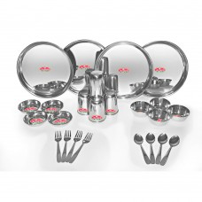 Deals, Discounts & Offers on Home & Kitchen - Aristo 24pcs Stainless Steel Dinner Set