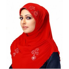 Deals, Discounts & Offers on Women Clothing - Islamic Attire Solid Polyester Women's Scarf