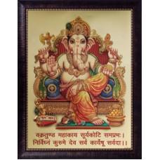 Deals, Discounts & Offers on Home Decor & Festive Needs - SAF Ganesh Ji Acrylic Painting