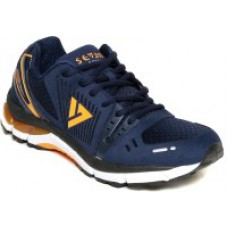 Deals, Discounts & Offers on Foot Wear - SEVEN Poseidon Patriot Blue Orange Peal Running Shoes