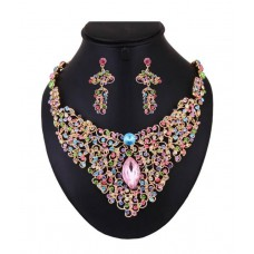 Deals, Discounts & Offers on Earings and Necklace - Flat 86% off on Optima Modish Jewellery Set
