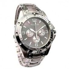 Deals, Discounts & Offers on Accessories - Rosra Stylish Analog Silver Metal Wrist Watch