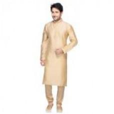 Deals, Discounts & Offers on Men Clothing - Mens Pack of 2 Cream & White Kurta Pyjama Set