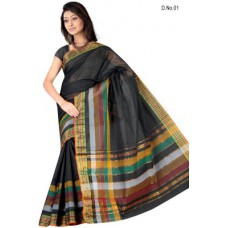 Deals, Discounts & Offers on Women Clothing - Pavechas Printed Cotton Sari offer