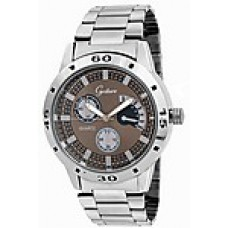 Deals, Discounts & Offers on Men - Gesture Silver Metal Men Analog Watch  offer