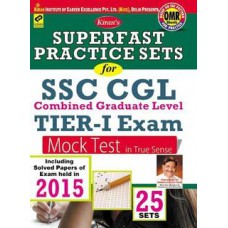 Deals, Discounts & Offers on Books & Media - Kirans Superfast Practice Sets For SSC CGL Tier-I Exam Mock Test