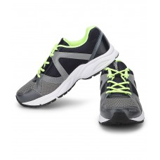Deals, Discounts & Offers on Foot Wear - Reebok Mens Thunder Run Grey Navy Sports Running Shoes offer