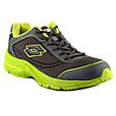 Deals, Discounts & Offers on Foot Wear - Lotto Black & Green Men Sports Shoes offer