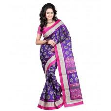 Deals, Discounts & Offers on Women Clothing - Vamika Bhagalpuri Silk Women's Saree