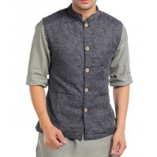 Deals, Discounts & Offers on Men Clothing - Sobre Estilo Linen Nehru Men Jacket