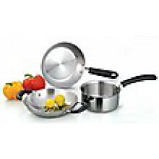 Deals, Discounts & Offers on Home & Kitchen - Marvel 3 Pcs Induction Cookware Set