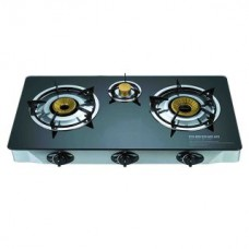 Deals, Discounts & Offers on Home & Kitchen - Automatic 3 Burner Gas Cooktop