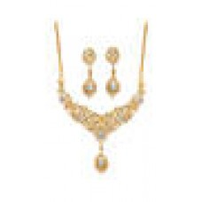Deals, Discounts & Offers on Women - Touchstone Gold Alloy Necklaces Set