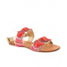 Deals, Discounts & Offers on Foot Wear - Carlton London Red Flat Slip-on
