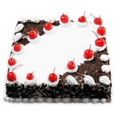 Deals, Discounts & Offers on Home Decor & Festive Needs - 1kg Eggless Cherry Blackforest Cake