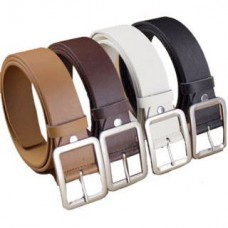 Deals, Discounts & Offers on Accessories - Leatherite Men's Formal Belt With Square Buckle