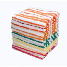 Deals, Discounts & Offers on Accessories - Bpitch Economy Stripe Face Towel - Set of 10