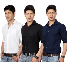 Deals, Discounts & Offers on Men Clothing - Top Notch Men's Solid Casual Shirt