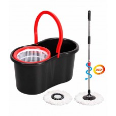 Deals, Discounts & Offers on Home Decor & Festive Needs - Blueline Magic Spin Mop Set With Easy Clean Water Trimmer