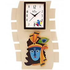 Deals, Discounts & Offers on Home Decor & Festive Needs - Fieesta Lord Krishna Analog Wall Clock