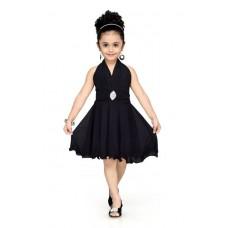 Deals, Discounts & Offers on Baby & Kids - Aarika Girl's Layered Black Dress