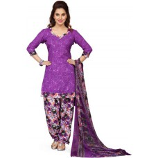 Deals, Discounts & Offers on Women Clothing - Ishin Synthetic Printed Salwar Suit Dupatta Material