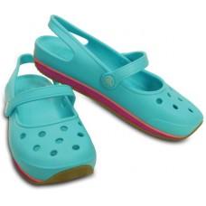 Deals, Discounts & Offers on Foot Wear - Crocs Women Blue Sandals