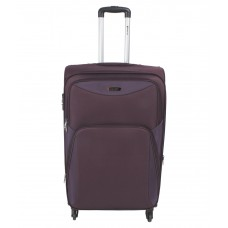 Deals, Discounts & Offers on Accessories - Safari Flora Small Purple 4 wheel trolley
