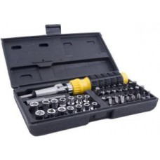 Deals, Discounts & Offers on Hand Tools - Buildskill BMS1100 Ratchet Screwdriver Set