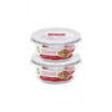 Deals, Discounts & Offers on Health & Personal Care - Lock&Lock Euro Bakeware Glass Set 2 Pcs 650 Ml