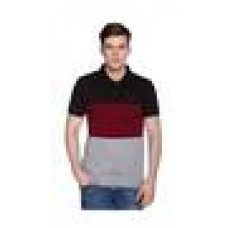 Deals, Discounts & Offers on Men Clothing - MEN'S CUT & SEW EMBROIDERED POLO T-SHIRT
