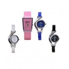 Deals, Discounts & Offers on Accessories - Glory Deginer Multicolor Analog Watch Combo