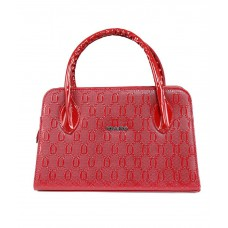 Deals, Discounts & Offers on Accessories - Kiara Red Non Leather Handbag