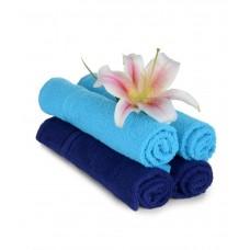 Deals, Discounts & Offers on Home Decor & Festive Needs - Mark Home Set of 4 Cotton Hand Towel