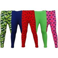 Deals, Discounts & Offers on Women Clothing - Little Star Girl's Multicolor Leggings