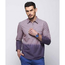 Deals, Discounts & Offers on Men Clothing - Flat 73% off on Avel Check Kurta Shirt