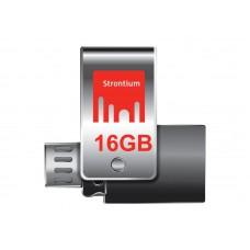 Deals, Discounts & Offers on Mobile Accessories - Strontium Nitro Plus OTG Pen Drive