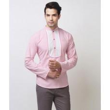 Deals, Discounts & Offers on Men Clothing - Flat 73% off on Vance Solid Kurta Shirt