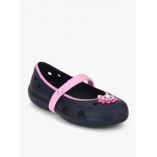 Deals, Discounts & Offers on Foot Wear - Flat 45% off on Navy Blue Belly Shoes