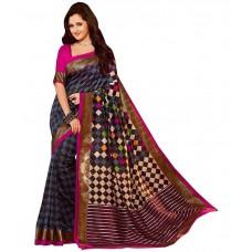 Deals, Discounts & Offers on Women Clothing - Flat 64% off on Dressy Bhagalpuri Silk Saree