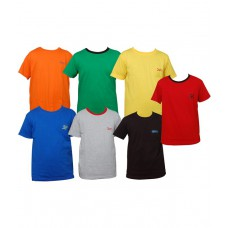 Deals, Discounts & Offers on Men Clothing - Little Star Combo Of Seven Half Sleeve T Shirt